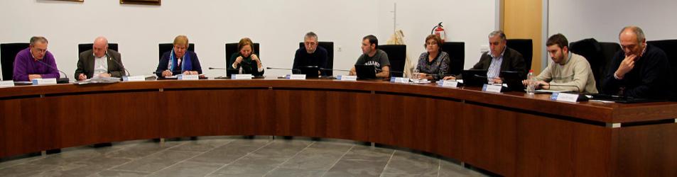 Imagen de una sesión anterior de un pleno en Zizur Mayor.
