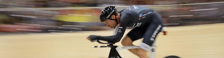Jens Voigt, durante el récord de la hora