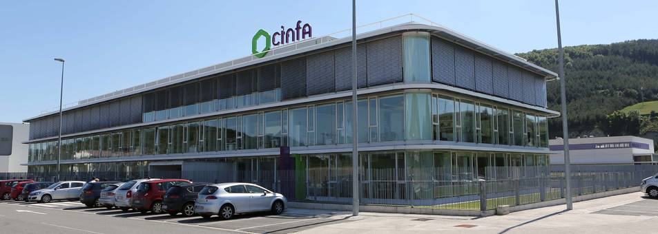 Sede de Cinfa en Olloki
