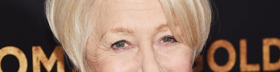 La actriz Helen Mirren.