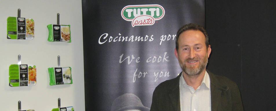 Eduardo Palacio, consejero delegado de Tutti Pasta