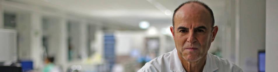 José Elizalde, coordinador de trasplantes de Navarra.