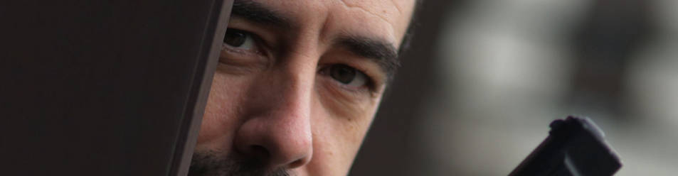 Carlos Bassas se ambienta para el comienzo el martes de la tercera edición de Pamplona Negra.