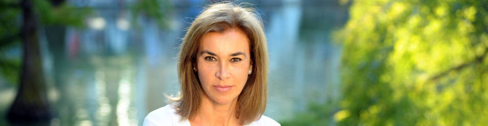Foto de la escritora, de 63 años, reside en Madrid desde 1965 y visita el Club de Lectura de Diario de Navarra por tercera vez.