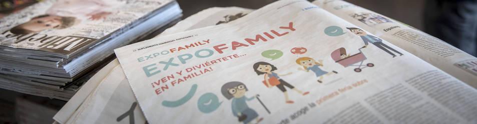 Imagen de la feria de Expofamily, en Baluarte.