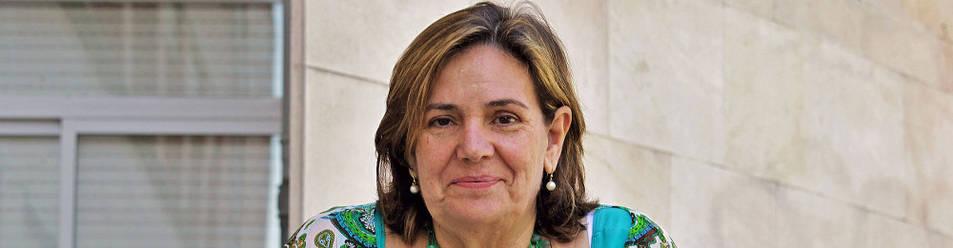 Montserrat Pons Gimeno, presidenta de la Asociación Lacta en Navarra.