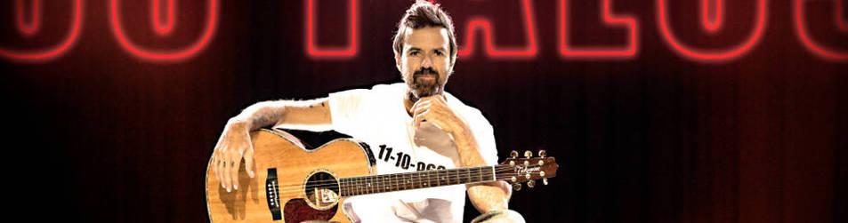 Foto de Pau Donés Cirera nació en Barcelona el 11 de octubre de 1966 y lleva sus 50 años de gira por España, EE UU, Italia y Latinoamérica.