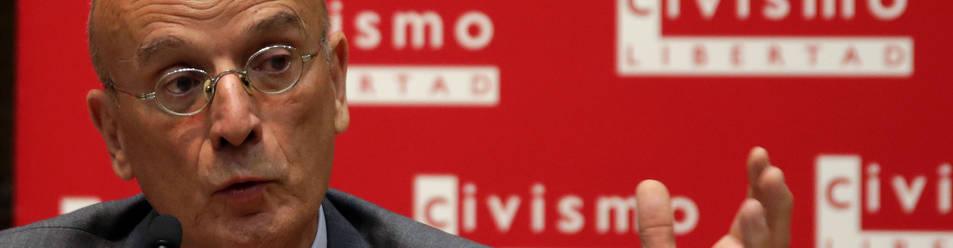 Ignacio Ruiz en su ponencia en el Think Tank Civismo