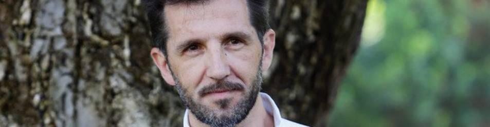 Muguiro en el Festival de Cine de Locarno, donde acudió con su película 'O Futebol', codirigida junto a Sergio Oksman