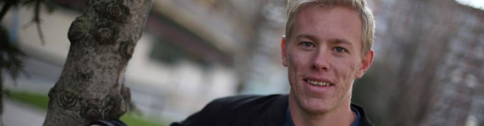 Henrik Nordlander, meta sueco de 25 años,  forma junto a Sergey Hernández la segunda portería más efectiva de la liga tras la del Barcelona.