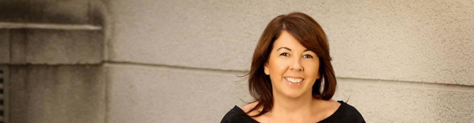 Imagen de la abogada Natalia Basterrecha, que impartió una conferencia en Pamplona sobre seguridad en redes.