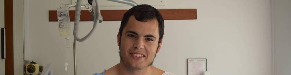 """Jaime González Martín : """"Creí que me  empujaban con el codo, pero era el toro  """""""