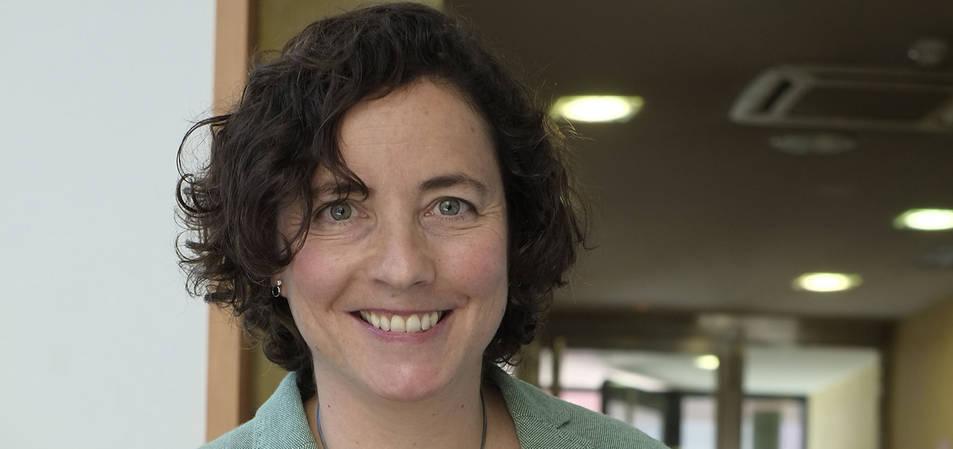 María Mendiluce, directora general del WBCSD, en la CEN.