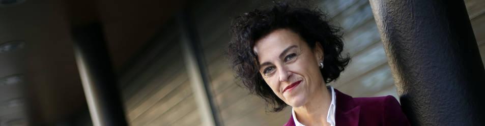 La nueva directora de la Asociación de la Industria Agroalimentaria de Navarra, La Rioja, Aragón (Consebro), Cristina Lecumberri de Castro.