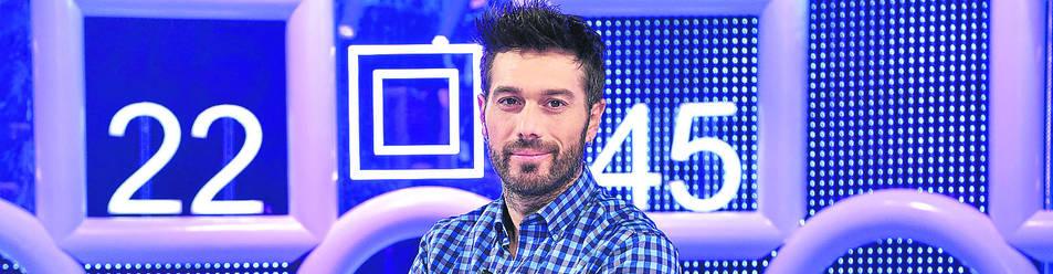 Dani Martínez, presentador de Cuatro