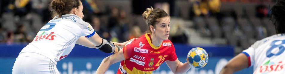 Nerea Pena, en el anterior Europeo que disputó (Suecia, 2016).
