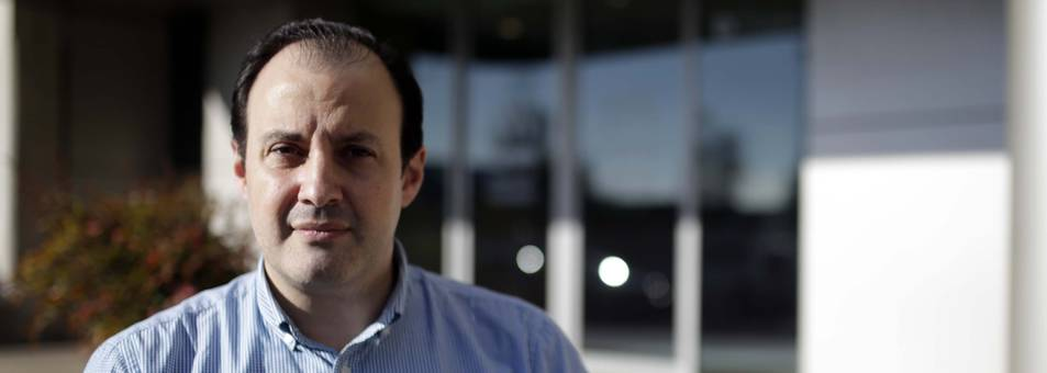 El escritor Juan Iribas Sánchez de Boado.