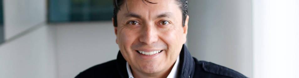El colombiano Mario Caicedo Rubio, de 43 años, vive en Pamplona desde 2005 y dirige una clínica dental en Ansoáin.