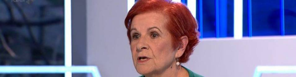 Paca Tricio, presidenta de la Unión Democrática de Pensionistas, en el programa 'El Objetivo' de 'La Sexta'.