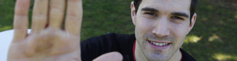 Foto de José Javier Zabaleta es el único representante navarro en la final de Parejas del próximo domingo, en el que el zaguero de Etxarren que acaba de cumplir 28 años.