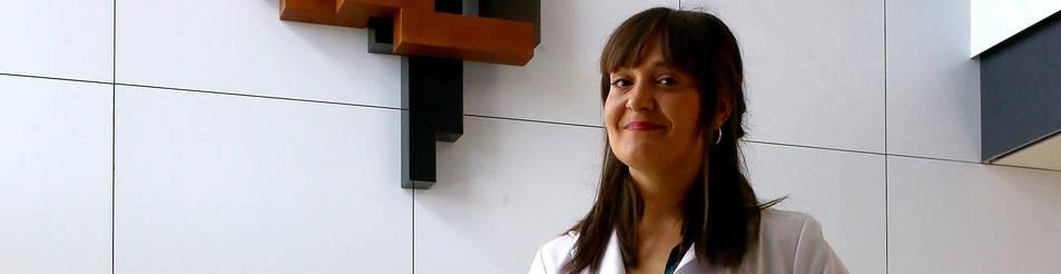 Foto de Martina Mora, musicoterapéuta de San Juan de Dios.
