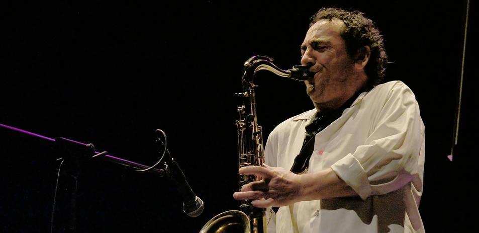 foto de El compositor y saxofonista navarro Josetxo Goia-Aribe.