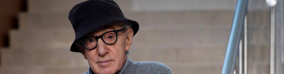 Woody Allen, al inicio de su último rodaje en San Sebastián.