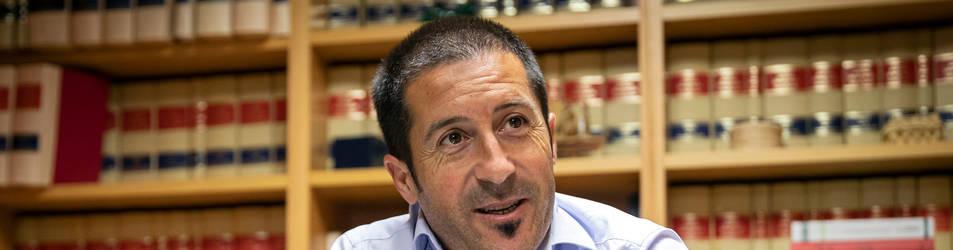 Foto del nuevo presidente de la Federación Navarra de Municipios y Concejos (FNMC), Juan Carlos Castillo Ezpeleta.