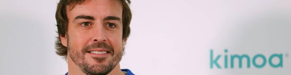 Foto del doble campeón del mundo de Fórmula Uno, Fernando Alonso.
