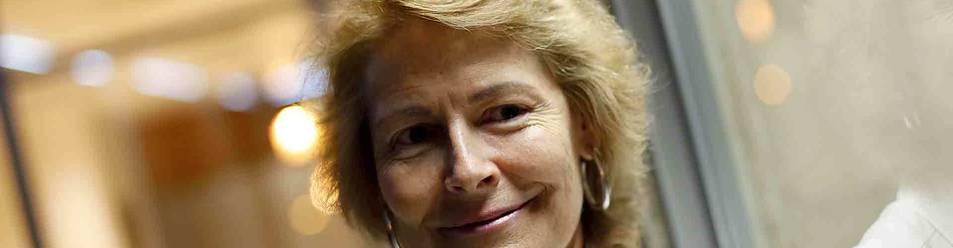 La pamplonesa Olga Lizasoáin Rumeu, de 56 años, es profesora de Pedagogía en la Universidad de Navarra y vicedecana de su facultad.