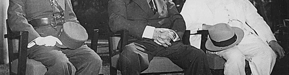 Normandía y Leyte atornillan a Roosevelt en la Casa Blanca  (1944)