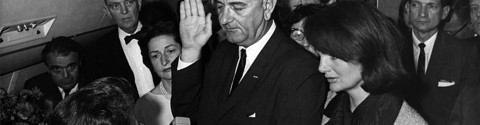 El duelo de Estados Unidos por Kennedy impulsa a su sucesor (1964)