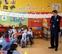 Iribas visita el colegio Santa Catalina Labouré de Pamplona