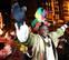 Baltasar, protagonista de la Cabalgata de Reyes en Pamplona