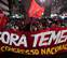 Miles de brasileños gritan 'Fuera Temer' y exigen elecciones