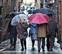 Las lluvias siguen copiosas en el noroeste, pero remiten por la tarde en toda Navarra