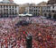 Un cohete con reivindicación feminista da inicio a las fiestas de Tudela