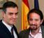 Sánchez e Iglesias cierran en 48 horas un acuerdo que no fue posible en seis meses