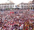 Llenazo total en un caluroso inicio de las fiestas de Tudela