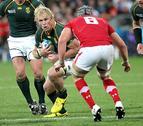 Sudáfrica sufre en su estreno; Australia e Irlanda ganan sin apuros