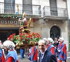 Los pamploneses acompañaron a San Saturnino en su día