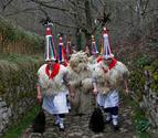 En los carnavales de Ituren