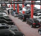 El número de vehículos robados en Navarra desciende un 18% en una década