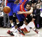 Calderón pone 15 asistencias en la victoria de Tornoro ante Pistons (103-93)
