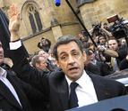 Increpan a Sarkozy en Bayona