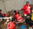 Dispositivo de Cruz Roja en la segunda Javierada