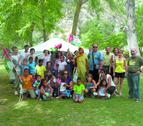 20 niños saharauis buscan casa en Navarra