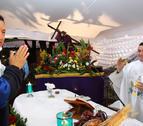 Chávez pide a Cristo que le dé vida porque le quedan cosas por hacer