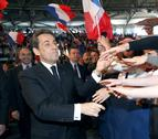 Sarkozy reitera que con Hollande la situación será como en España
