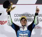 Maverick Viñales estrena con victoria la categoría de Moto3